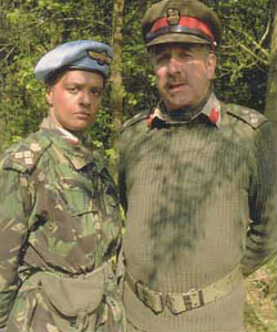 UNIT - Brigaders WinifredBambera (Angela Bruce)and Lethbridge-Stewart