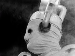 Image of first Cyberman Mark I (Episode: (Episode: 10th Planet)