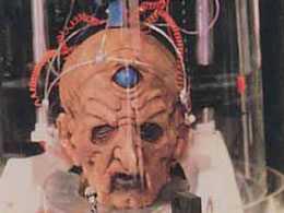 Davros head (Rememberance of the Daleks)