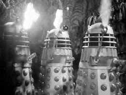 Image of Dalek Shooting Flame